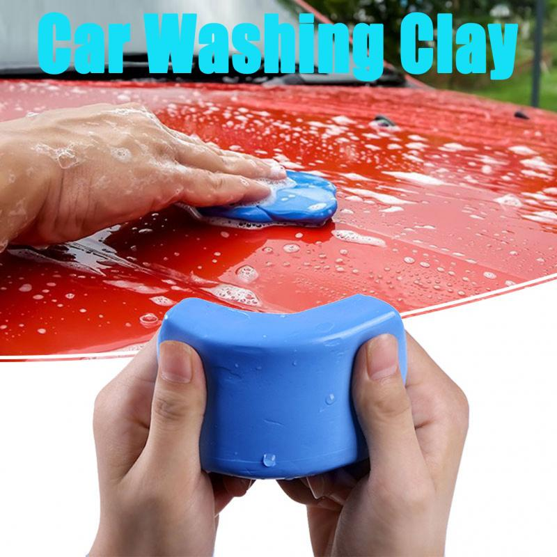 100g Car Cleaner Blue Magic Clay Car Cleaning Detailing Handheld Car Washing Mud Clean Clay Bar Mini Handheld Car Washer