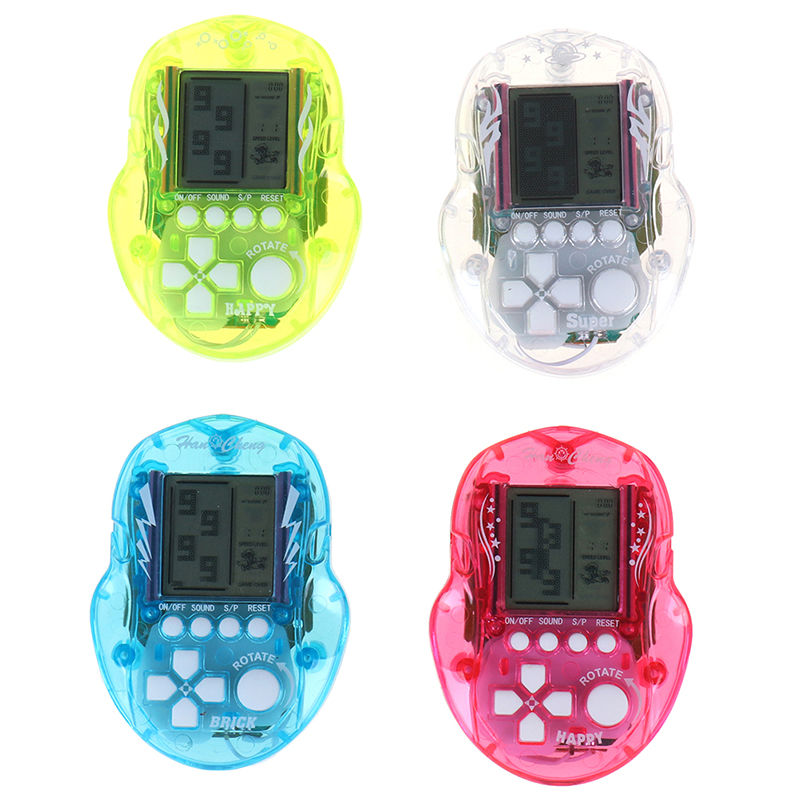 Mini Tetris Game Player Portable Game Console Digital Pocket Handheld Game Player For Children