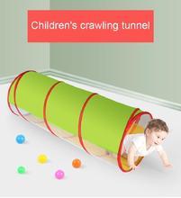 Kinder Spielzeug Atmungsaktive Sonnenschein Krabbeln Tunnel Kinder Outdoor Indoor Tube Baby Spielen Kriechende Spiele Jungen Mädchen Geburtstag Geschenk