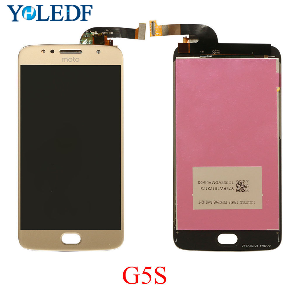 A+ <font><b>LCD</b></font> For Motorola Moto G5S <font><b>LCD</b></font> Display Touch Screen XT1793 XT1794 <font><b>XT1792</b></font> <font><b>LCD</b></font> Monitor Glass Panel <font><b>LCD</b></font> Digitizer Assembly Parts image