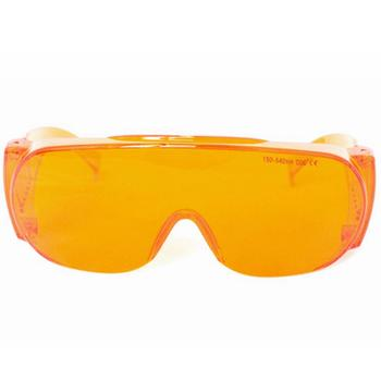 EP-3-6 Laser Protective Goggles OD6+ 190-540nm 488nm 514nm 532nm Wide Spectrum Continuous Absorption Safety Glasses