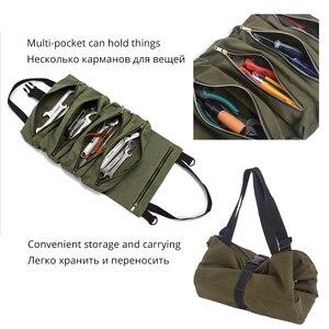 Image 5 - Car Multi functional  Backseat Storage Bag Multi pocket Car Organizer Car Storage Hanging Bag Universal Auto Seat Organizer