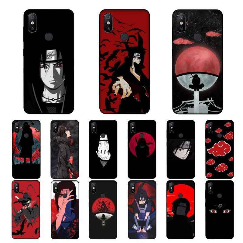 NBDRUICAI, superventas, carcasa de teléfono de silicona suave de TPU de Naruto Itachi para Xiaomi 8 9 se 5X Redmi 6pro 6A 4X 7 5plus note 5 7 6pro