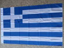 Frete grátis xvgdg 3ft x 5ft pendurado bandeira grega poliéster padrão bandeira bandeira ao ar livre bandeira da grécia