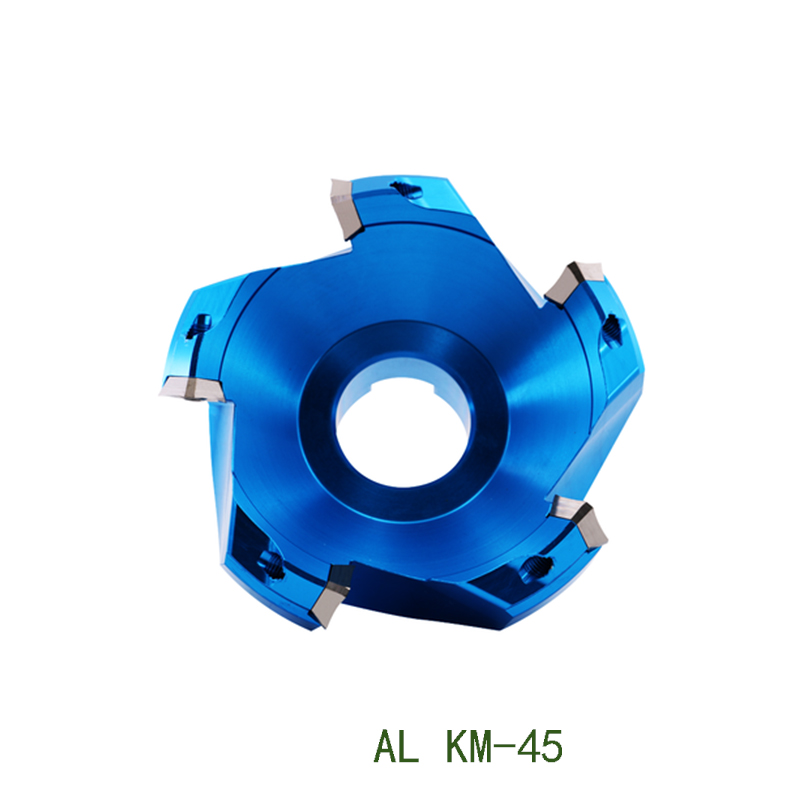 1pc KM12 100mm 125mm 160mm Milling Cutter 45 Degree Endmill For Alminum Facemill Holder KM12