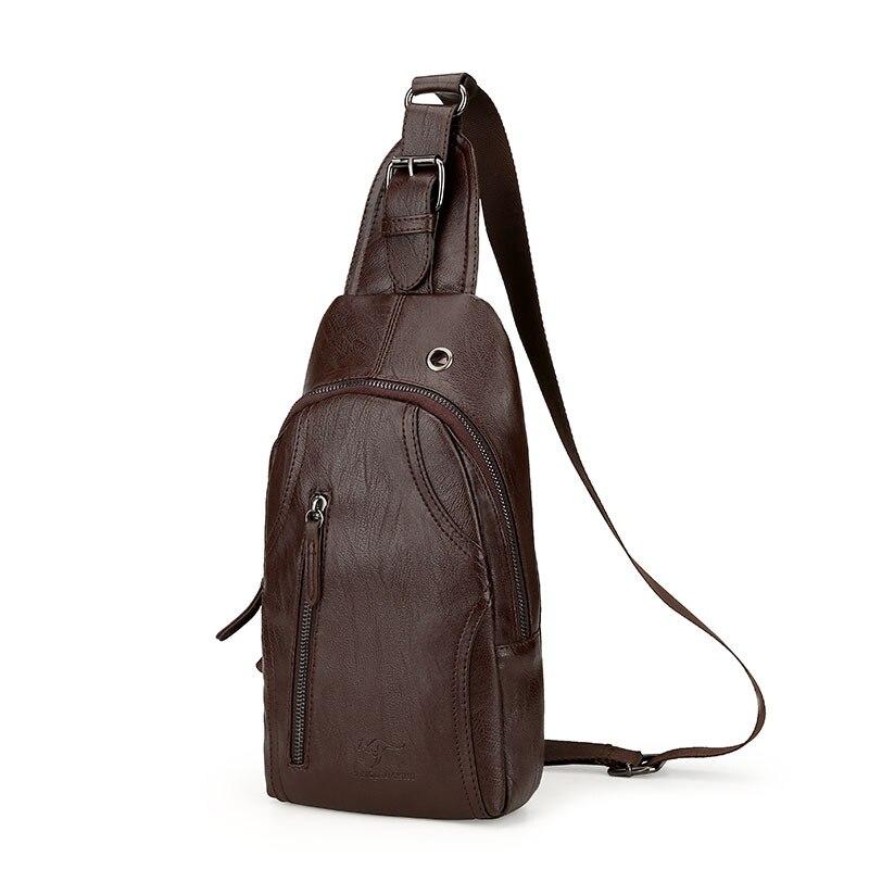 One Polo Men Chest Pack Versitile Fashion Backpack Men Shoulder Oblique Bag Outdoor Casual Chest Bag