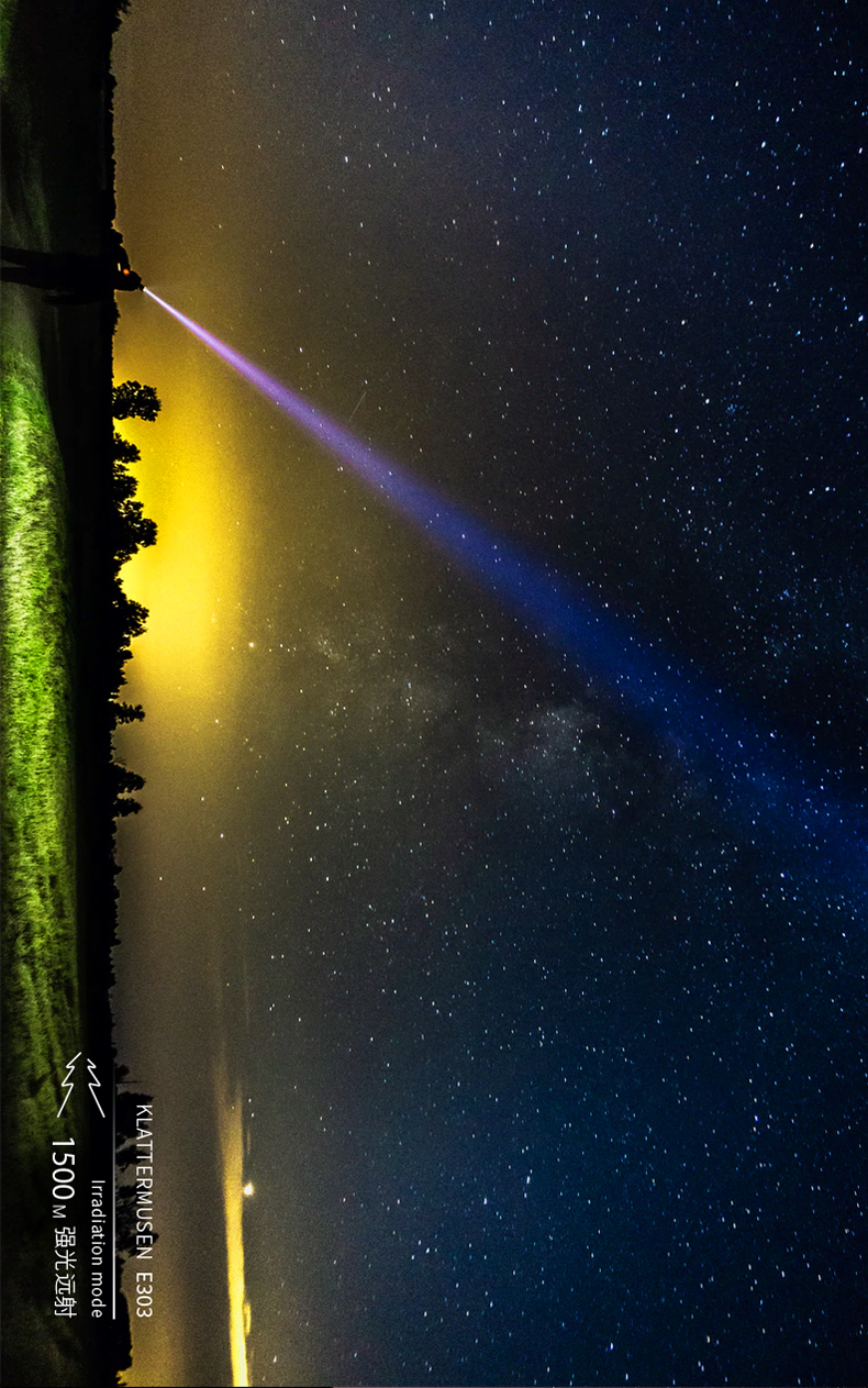 lâmpada led recarregável de acampamento alta potência