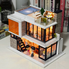 Doll house model toys role play elegant house  furnishing Florence room children toys kids educational toys doll house model toys role play elegant house furnishing warm time room children toys kids educational toys