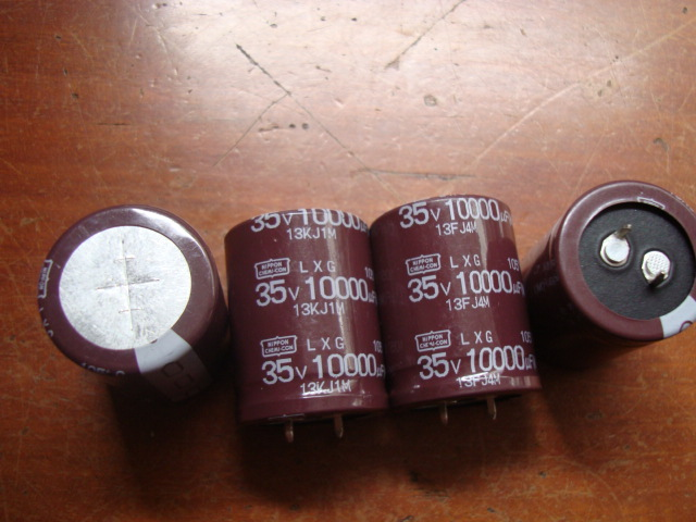 4PCS Origional Product NIPPON Japan Chemical LXG 35V 10000UF 105C Audio Filtering Electrolytic Capacitor Free Shipping