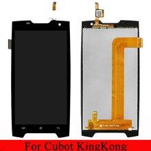 Pour les pièces dassemblage de remplacement de numériseur décran tactile daffichage à cristaux liquides de Cubot King kong pour Cubot Kingkong