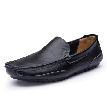 Mens shoes Shoe Leisure Leather Shoes Drive Male Dawdler Casual