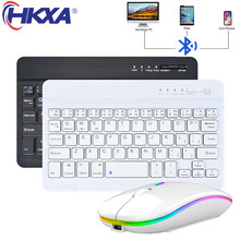 Mini Wireless Keyboard Bluetooth Keyboard for ipad Phone Tablet for iPad Bluetooth Keyboard and Mouse for Samsung Xiaomi Android