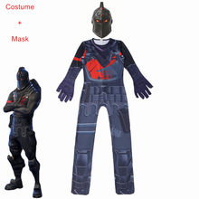 Schedel Trooper Kostuums Jumpsuits Bigs Jongens Cosplay Kleding Halloween Kostuums Voor Party Battle Royale Raven Game Grappig Kostuum(China)