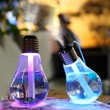 Красочные светильник лампы увлажнитель воздуха ультразвуковой