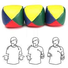 Balle de Sport de plein air pour enfants et adultes, ensemble de 3 pièces de balles de jonglage, de cirque avec 4 panneaux, jouets de Sport de plein air pour enfants et adultes