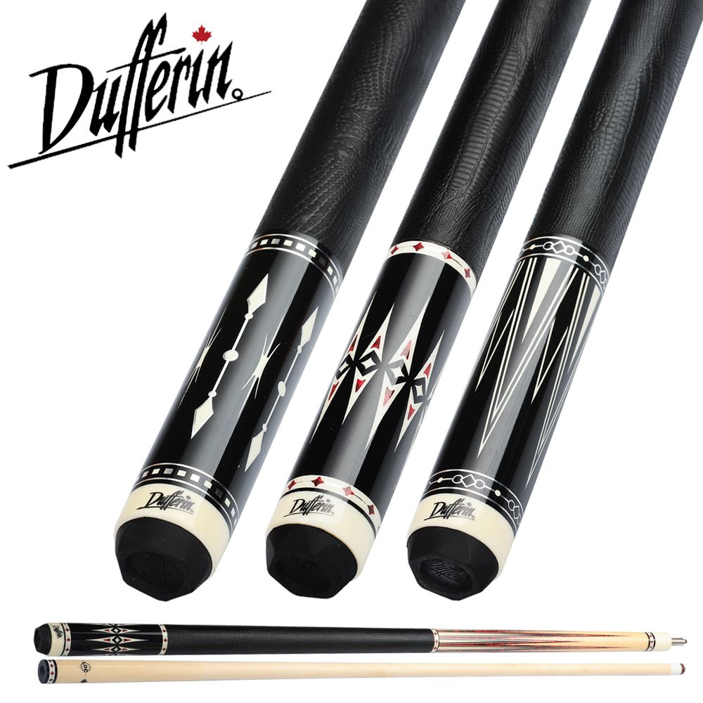 Dufferin Billiard Pool Cue DF Series 12.75mm Tip Canadian Maple Handmade Billar Stick Kit Professional