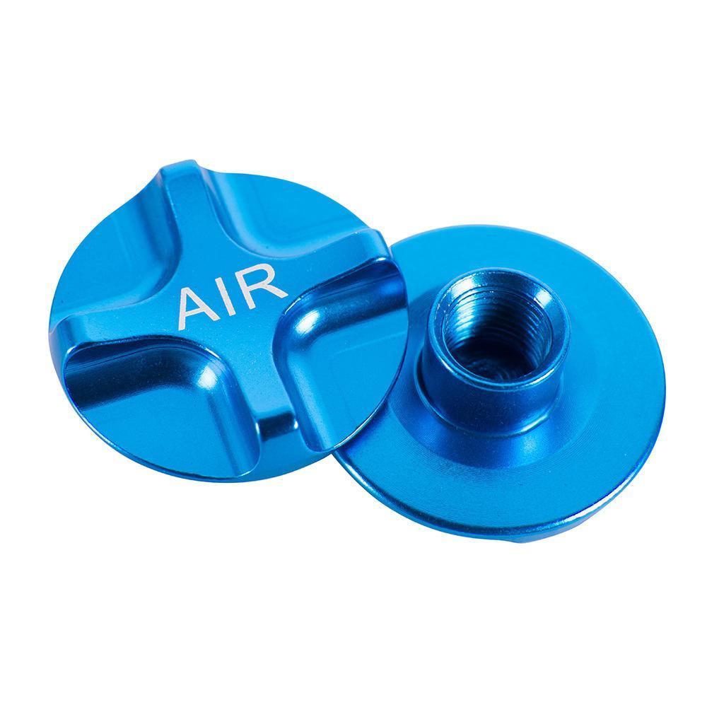 1 par garfo ombro bico de ar capa garfo de ar tampa de ombro à prova de choque forquilha dianteira liga alumínio capa