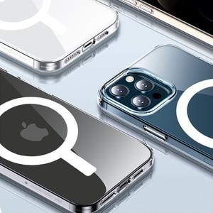 Image 3 - Funda de silicona líquida magnética 2 en 1 + cartera, tarjetero para IPhone 12 Pro Max, Mini imán seguro, tarjetero, accesorios