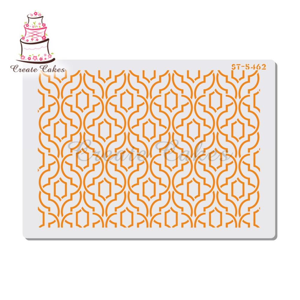 Lattice Stencil For Walls Painting Scrapbooking Stamp Album Decorative Embossing DIY Craft Paper Card Flower Template