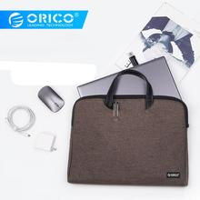 Buy ORICO Laptop Sleeve Bag For Macbook Air Pro 13.3 Laptop Bag 15.6 Portable Notebook Storage Handbag For Dell HP Macbook Xiaomi directly from merchant!