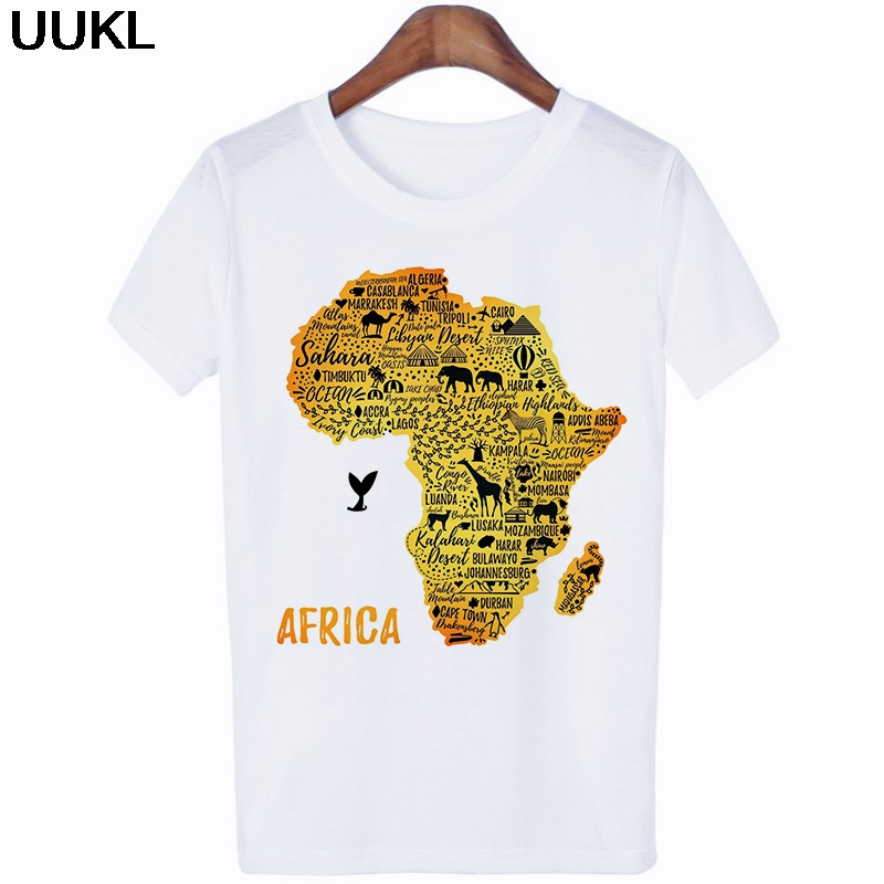 Hd9d90168aa6841ab85fcdc4f1ef18ab7p - Poleras Mujer De Moda Summer Female T-shirt Harajuku Letter African Plate T Shirt Leisure Fashion Tshirt Tops Hipster Shirt
