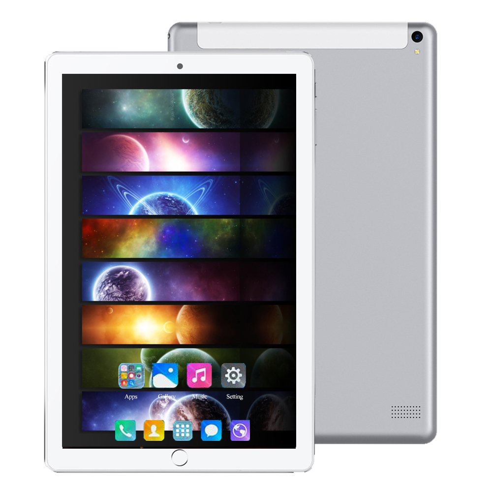 2020 Android 8.0 10.1 Inch Tablet Octa Core 6GB RAM 128GB Tablet 4G LTE Phone Call WiFi Bluetooth GPS Handheld Tablet For Kids