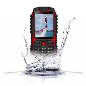 Телефон XGODY ioutdoor T1, 2G, IP68 водонепроницаемый, 2,4 дюйма, 128 м + 32 м, GSM, 2 МП, задняя камера, FM, 2100 мАч, прочный мобильный телефон