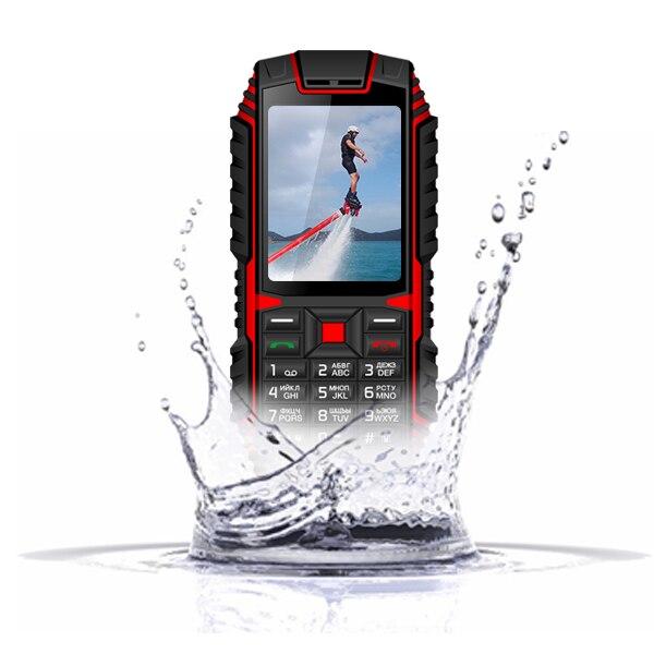XGODY ioutdoor T1 2G IP68 Waterproof Phone 2.4 Inch Telefone Celular 32M+32M GSM 2MP Back Camera FM 2100mAh Rugged Mobile Phone