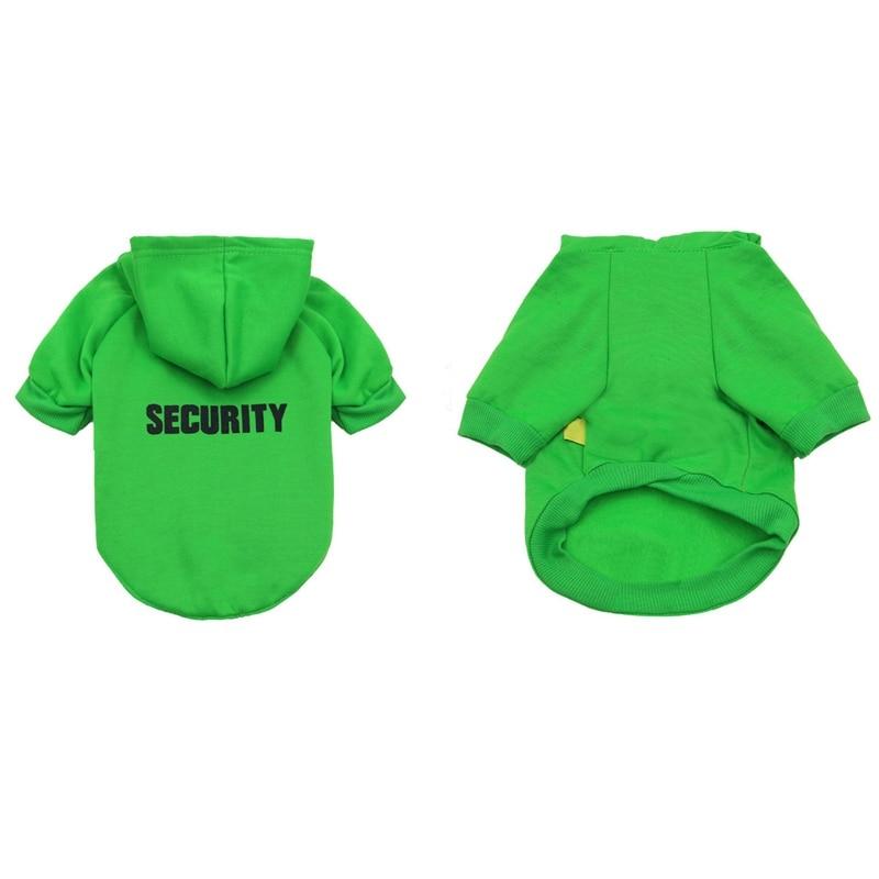 Security Dog Cat Clothes Pet Cat Coats Jacket Hoodies For Cats Dog Outfit Warm Pet Clothing Rabbit Animals Pet Sweatshirt 10