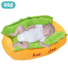 Get more info on the AAG Baby Nest Bed Plush Warm Newborn Portable Crib Cradle Baby Bassinet Bumper Baby Cot Travel Babynest Cribs Newborn Cushion