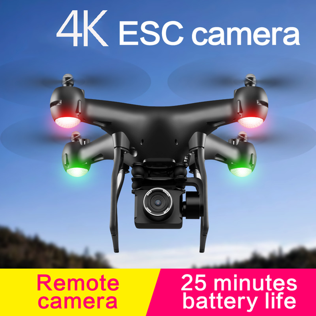 S32T Mini Drone RC Quadcopter With 4K HD ESC Camera Wide-Angle Professional Aerial Photography 360° Roll Helicopter Kids Gift 2