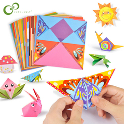 Creative Fun Material DIY Making Origami Toys Children's Handmade Origami 3D Handmade Color Fun Origami Educational Toy LXX
