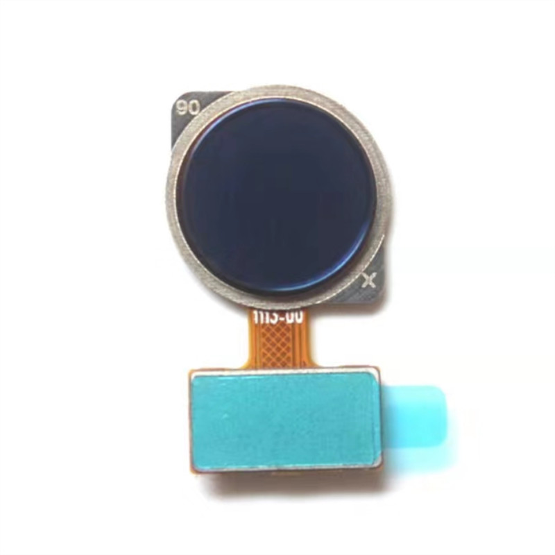 Home Button Fingerprint Scanner Touch ID Sensor Flex Cable Replacement for Galaxy Note 9 N9600 N960F N960U N960N Blue