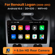 AWESAFE PX9 for Renault Logan 1 2010-2015 Car Radio Multimedia video player GPS No 2din 2 din Android 10.0 2GB+32GB(China)
