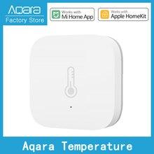 Humidity-Control Temperature-Sensor Zigbee-Connection Homekit Smart Newest Aqara App/apple