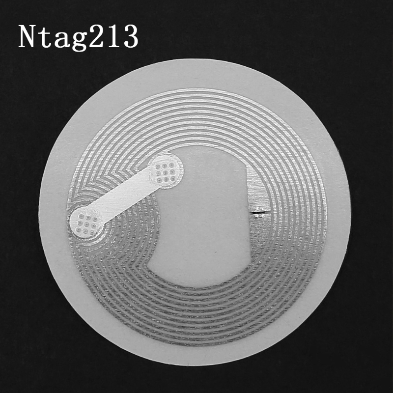 10 Pcs NTAG213 NFC TAG Sticker Key Patrol Label RFID Tag For Access Control Card