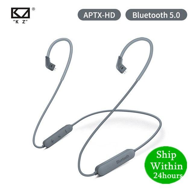 Kz aptx hd csr8675 bluetooth5.0 módulo sem fio fone de ouvido cabo atualização aplica fone de ouvido original as10 zst es4 zsn pro zs10 as16