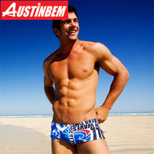 Austinbem короткий чемодан, Мужская одежда для плавания, s Traje De Bano Hombre, Мужская одежда для плавания, разноцветные трусы, мужские s Maillot De Bain Homme