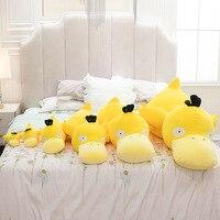 20-80cm Pokemon Psyduck Cartoon Stuffed Plush Toys Anime Figure Pendant Yellow Duck Plush Doll Pillow Toys Girl Christmas Gift 3