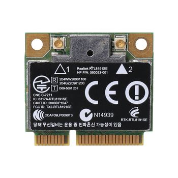 Wireless Wifi Card 802.11 B/G/N Mini 593533-001 593034-001 for HP CQ42 G42 G62 G72 4520S 4720S 4325S CQ56 RT8191SE golooloo 6 cell battery for hp pavilion g4 g6 g7 g32 g42 g56 g62 g72 cq32 cq42 cq62 cq56 cq72 dm4 mu06 593553 001 593562 001