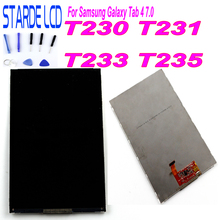 Starde LCD For Samsung Galaxy Tab 4 7.0 T230 T231 T233 T235 SM-T230 SM-T231 SM-T235 LCD Display Panel Screen Monitor Replacement цена и фото