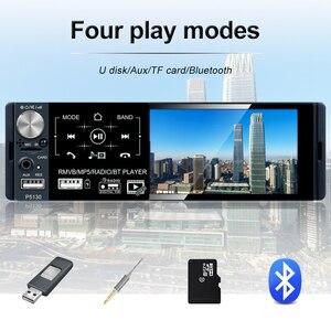 Image 5 - Podofo 1 الدين راديو السيارة Autoradio ستيريو الصوت RDS ميكروفون 4.1 بوصة MP5 مشغل فيديو USB MP3 TF ISO في اندفاعة مشغل وسائط متعددة