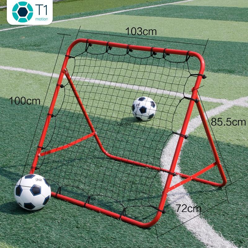 Футбол останавливающая сетка регулируемый прохождения съемки вспомогательный учебного оборудования останавливающая сетка Футбол тренир...