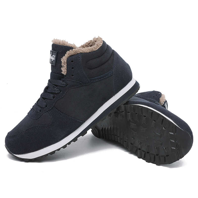 Nuevas botas de invierno para mujer 2019 botas de piel cálida para mujer botas de nieve botas de Invierno para mujer zapatos de mujer de talla grande