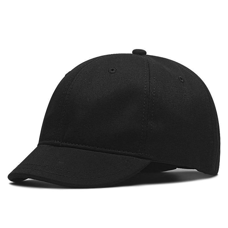 2020 Plus Size Baseball Caps Women Fashion Short Brim Sun Hat Big Head Man Racing Large Size Sport Cap 56-60cm 60-68cm