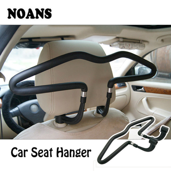 Car Back Seat Headrest Soft PVC Coat Hangers for Volkswagen Polo BMW E46 E39 Mini Cooper Audi A4 B6 B8 A5 TT Ford Fiesta Kuga image
