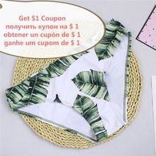 Push Up Separate Two Piece Brazilian Bathing Suit