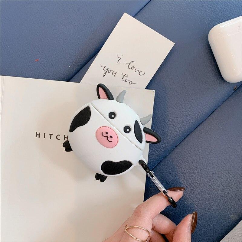 Купить чехол для airpods pro мягкий силиконовый чехол с милыми мультяшными