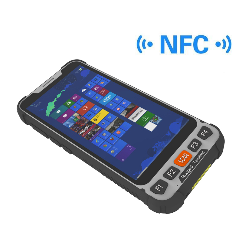 5 Inch 4G LTE NFC Windows 10 Pro Rugged Tablet,Mini Windows Tablet SH5