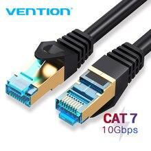 Vention Cat7 câble Ethernet RJ45 Lan câble réseau câble UTP Cat 7 cordon de raccordement pour 2M/3M/1.5M/8M/10M ordinateur portable routeur câble